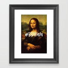 #BBHMM Framed Art Print