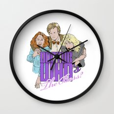 Doctor Who's The Boss? Wall Clock