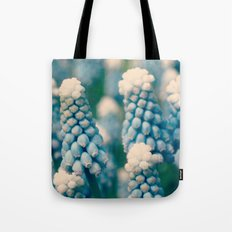 Muscari Field  - JUSTART © Tote Bag