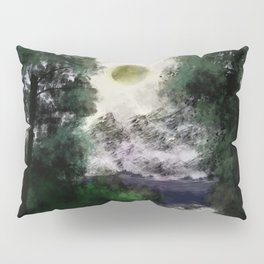 Two in one - Sun eclipse Pillow Sham