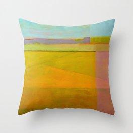 Distant Purple Throw Pillow