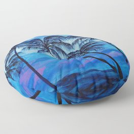 Ocean Breeze Floor Pillow