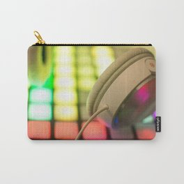 Headphones on a launchpad Carry-All Pouch
