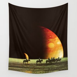 Horse ride Wall Tapestry