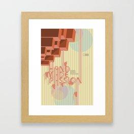 NP 004 Framed Art Print
