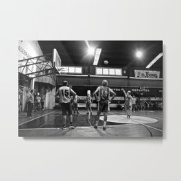 Basketball Chile Metal Print