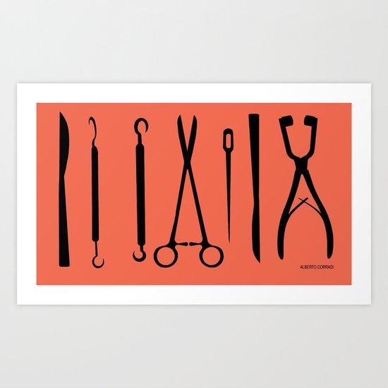 TOOLS Art Print