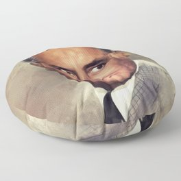 Cary Grant, Hollywood Legend Floor Pillow