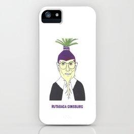 Rutabaga Ginsburg1 iPhone Case