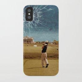 Broken Glass Sky iPhone Case