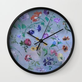 Carpe Diem (flower collection) Wall Clock