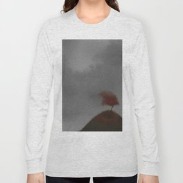 Standing Strong in a Fall Wind Long Sleeve T-shirt