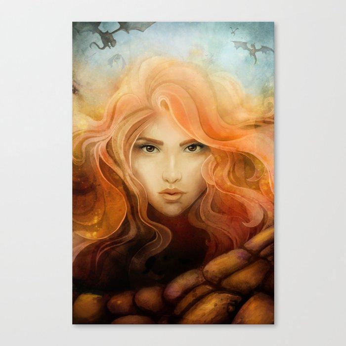 Dragon Choir Canvas Print