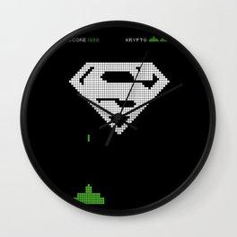 Super Invader Wall Clock