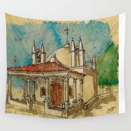 Capela S.Sebatião Wall Tapestry
