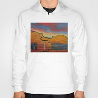 violin Hoodies featuring Violin by Michael Creese