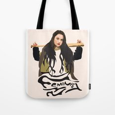Swag Feminist (Pink) Tote Bag