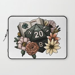 Dungeon Master D20 Tabletop RPG Gaming Dice Laptop Sleeve