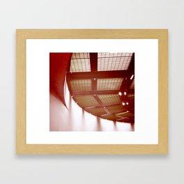 A View From Below Framed Art Print