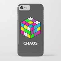 chaos iPhone & iPod Cases featuring Chaos by Dizzy Moments
