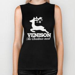 Venison the Christmas meat Biker Tank