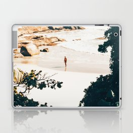 Solo Traveler || #illustration #travel Laptop & iPad Skin