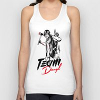 daryl Tank Tops featuring TEAM DARYL by Dr.Söd