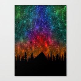 Mountains Stras Canvas Print