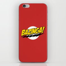 The Big Bang Theory - Bazinga  iPhone & iPod Skin