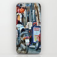 greek iPhone & iPod Skins featuring Greek Street by Teresa Pople