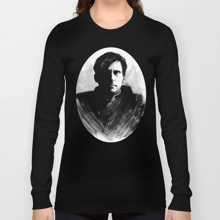 DARK COMEDIANS: Steve Carell Long Sleeve T-shirt