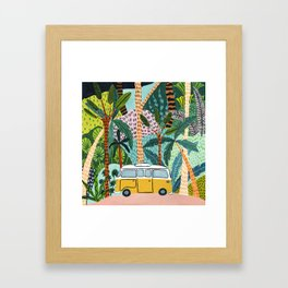 Jungle Camper Framed Art Print