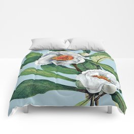 Franklin tree flowers Comforters