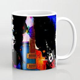 GUITAR MAN FEEL THE MUSIC KISS THE SKY Coffee Mug