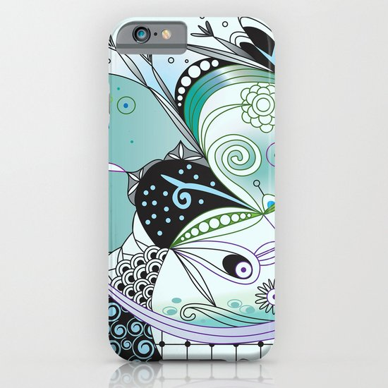 Winter tangle iPhone & iPod Case