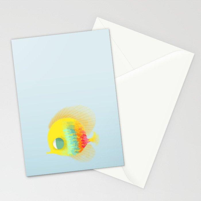 Bajo del mar Stationery Cards