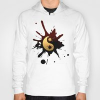 ying yang Hoodies featuring Ying-Yang by Jessica Jimerson