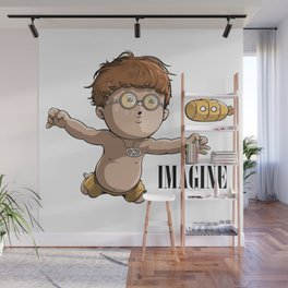 Imagine Wall Mural