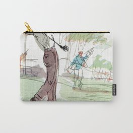 Are You Looking At My Putt? Vintage Golf Carry-All Pouch
