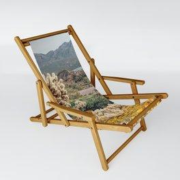 Arizona Mountain Poppies Sling Chair