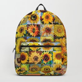 Sunflower Montage Backpack