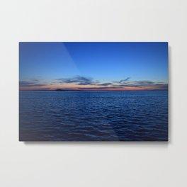 Sunset in Dunedin Florida Metal Print