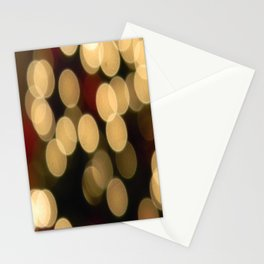Blurred Lights Stationery Cards