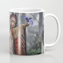 Indian Princess Coffee Mug