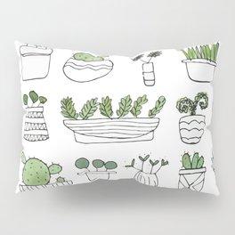 Spiky Succulents Pillow Sham