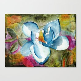 Let Your Heart Bloom Canvas Print