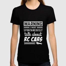 Funny RC Cars Racing Apparel Gift T-shirt