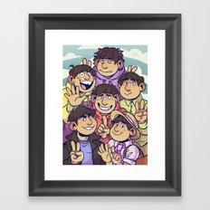 Osomatsu san Framed Art Print