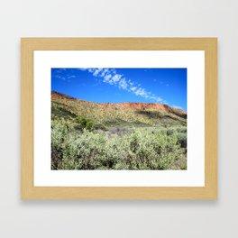 Great Dividing Range Framed Art Print
