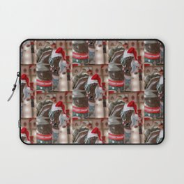 Santa Horse 6 - Retro Laptop Sleeve